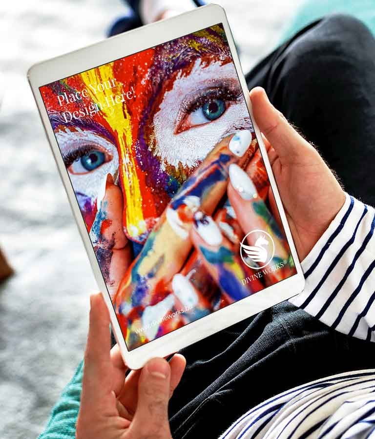 Free Tablet Mockup by Divine Works