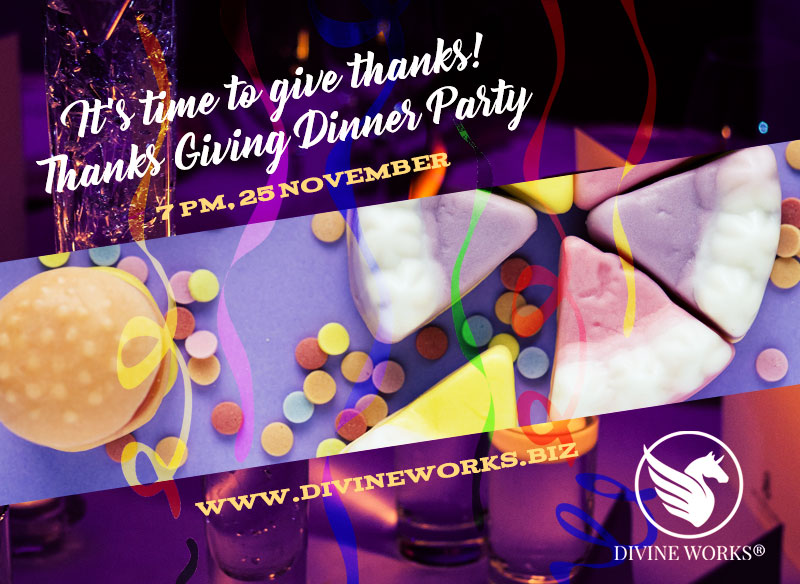 Free Dinner Party Instagram Post Template by Divine Works
