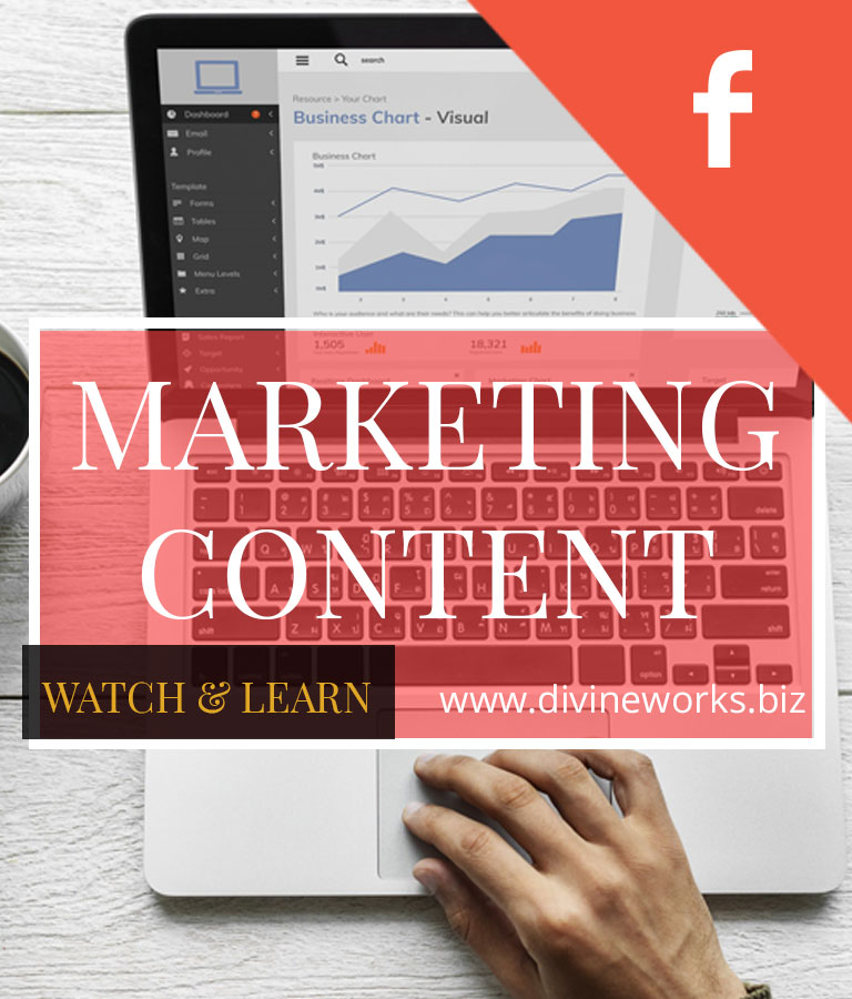 Free Marketing Content Facebook Cover Photo Templates by Divine Works