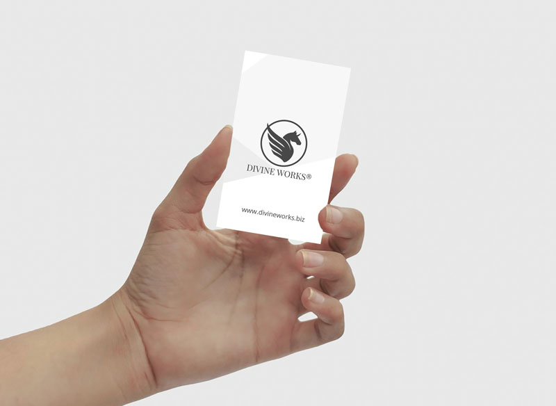 Free Business Card In Hand Mockup by Divine Works