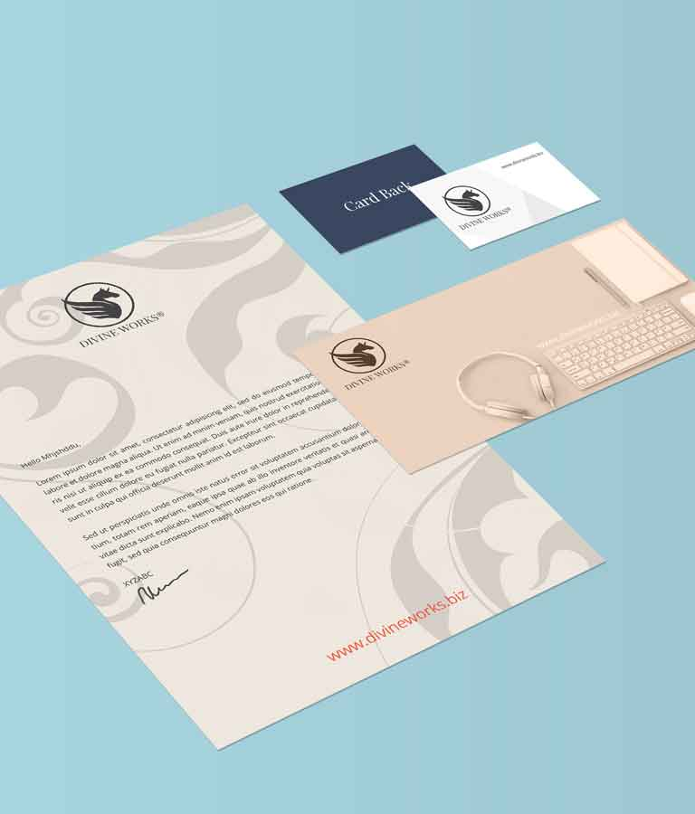 Free Isometric Stationery Mockup by Divine Works