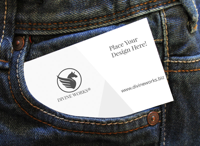 Free Visting Card Mockup by Divine Works