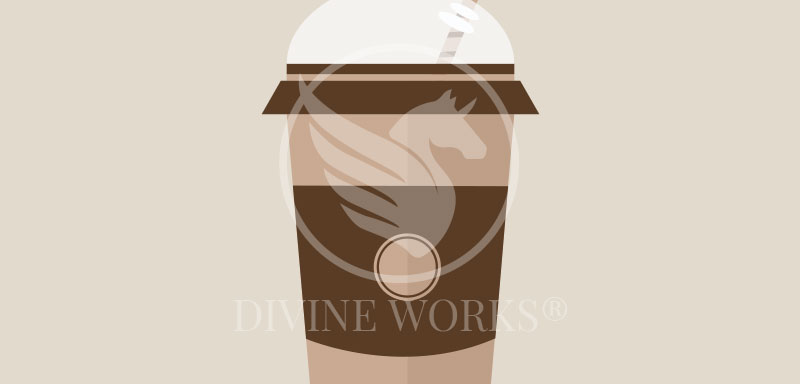 Free Paper Coffee Cup Vector Illustration by Divine Works