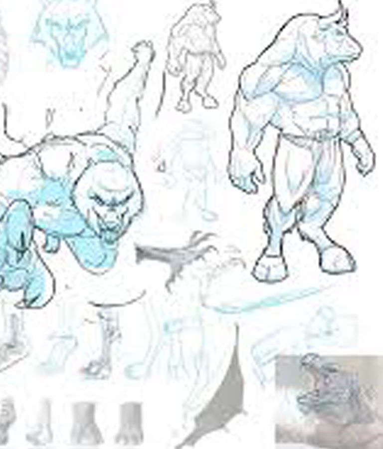 Drawing and Designing Creatures, Monsters, Aliens, & Legends