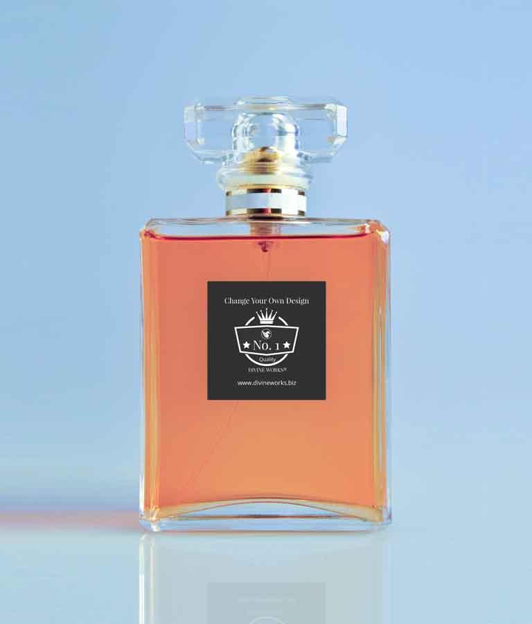 Free Perfume Bottle Mockup by Divine Works