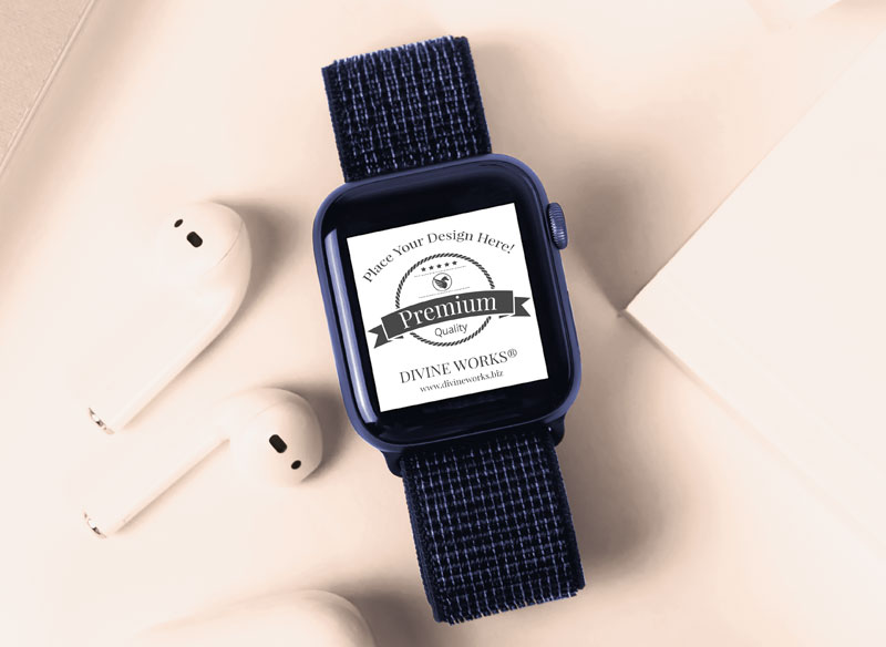 Free SmartWatch Mockup by Divine Works
