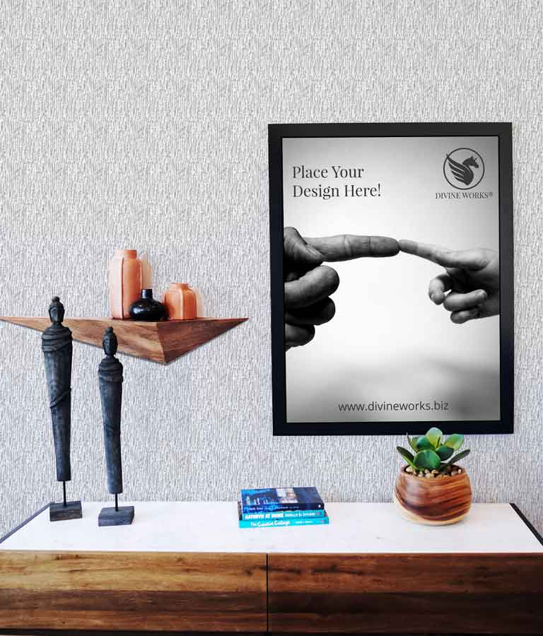 Free Wall Picture Frame Mockup by Divine Works