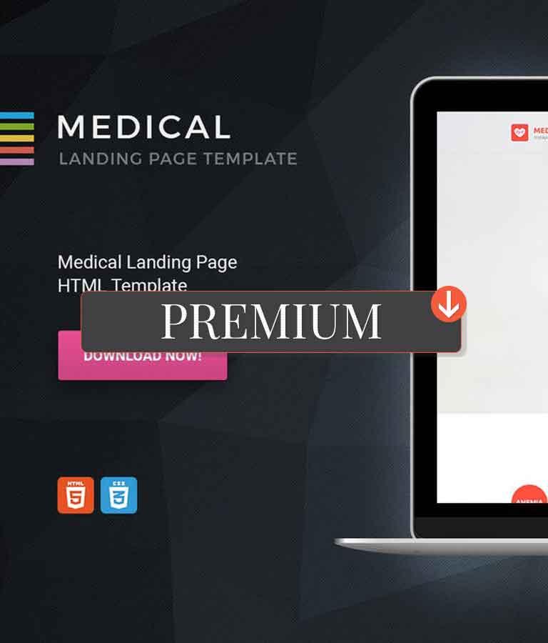 Medical HTML Landing Page