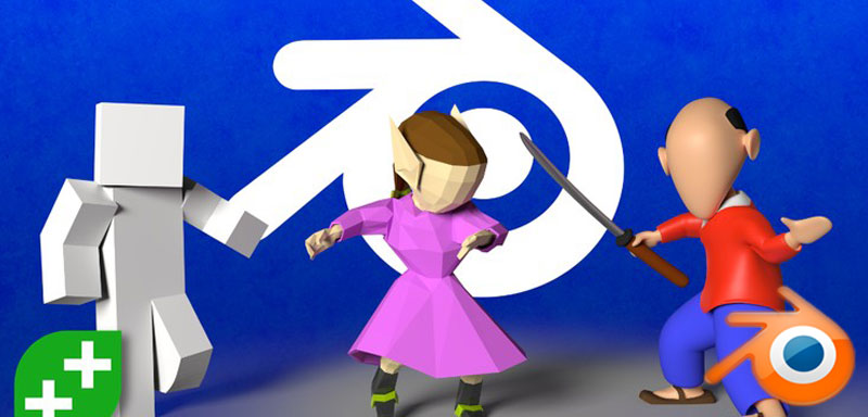 Blender Character Creator: Rigging Humanoid 3D Characters