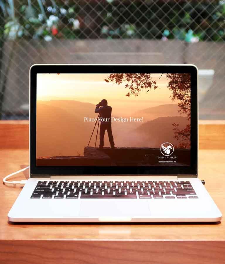 Free MacBook Pro Mockup by Divine Works
