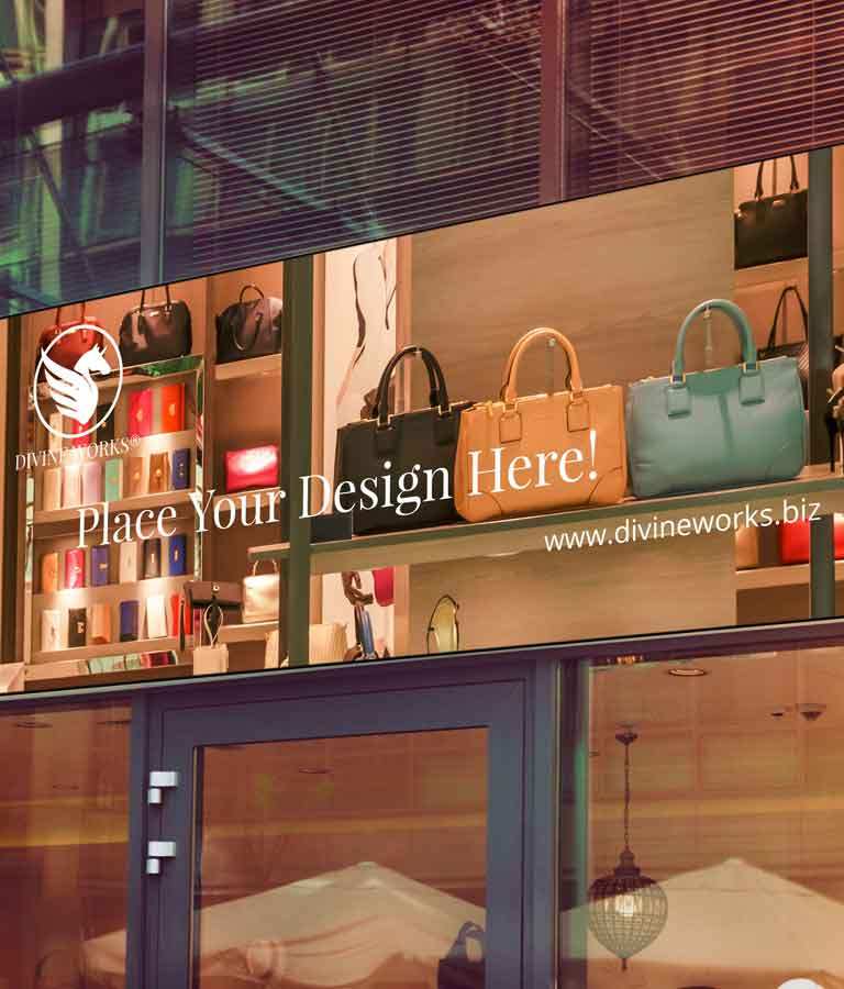 Free Shop Signage Mockup by Divine Works