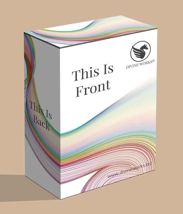 Free Software Packaging Box Mockup