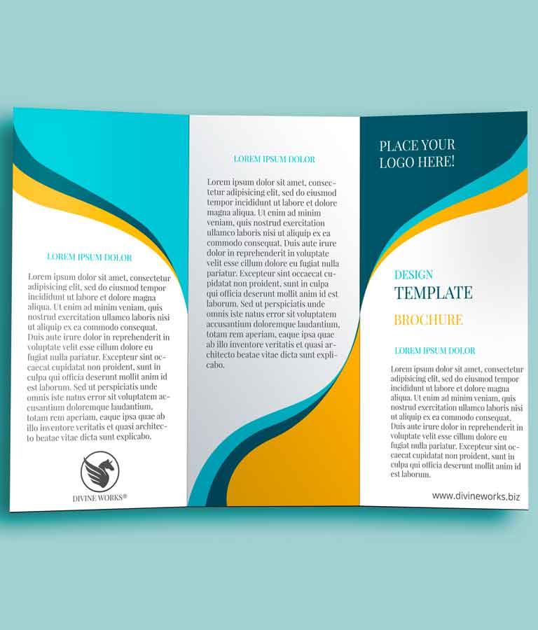 Free Tri Fold Brochure Mockup by Divine Works
