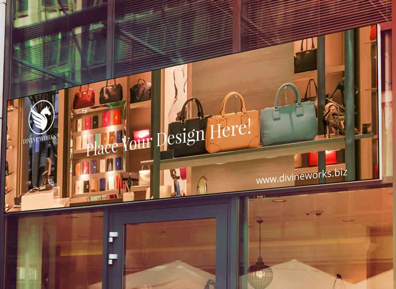 Free Shop Signage Mockup by Divine Works