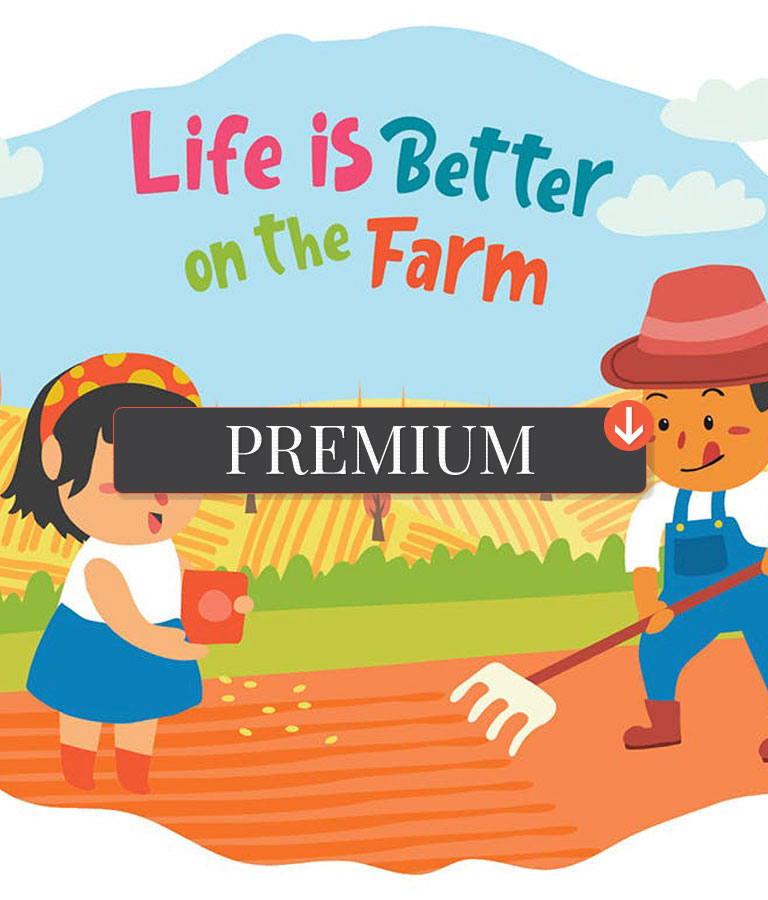 Farmers Vector Illustration