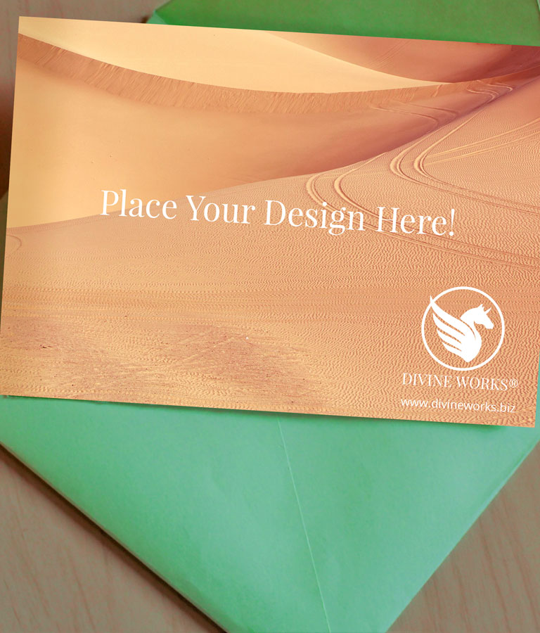 Free Greeting Card Mockup by Divine Works