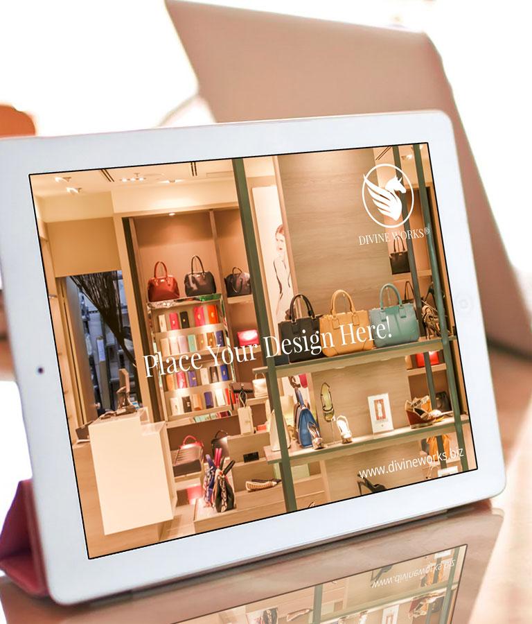 Free iPad Pro Mockup by Divine Works