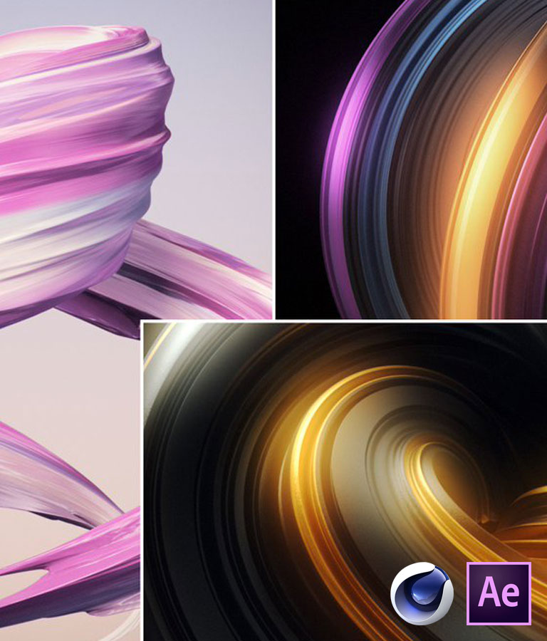 Learn Cinema 4D Create Abstract 3D Design Elements