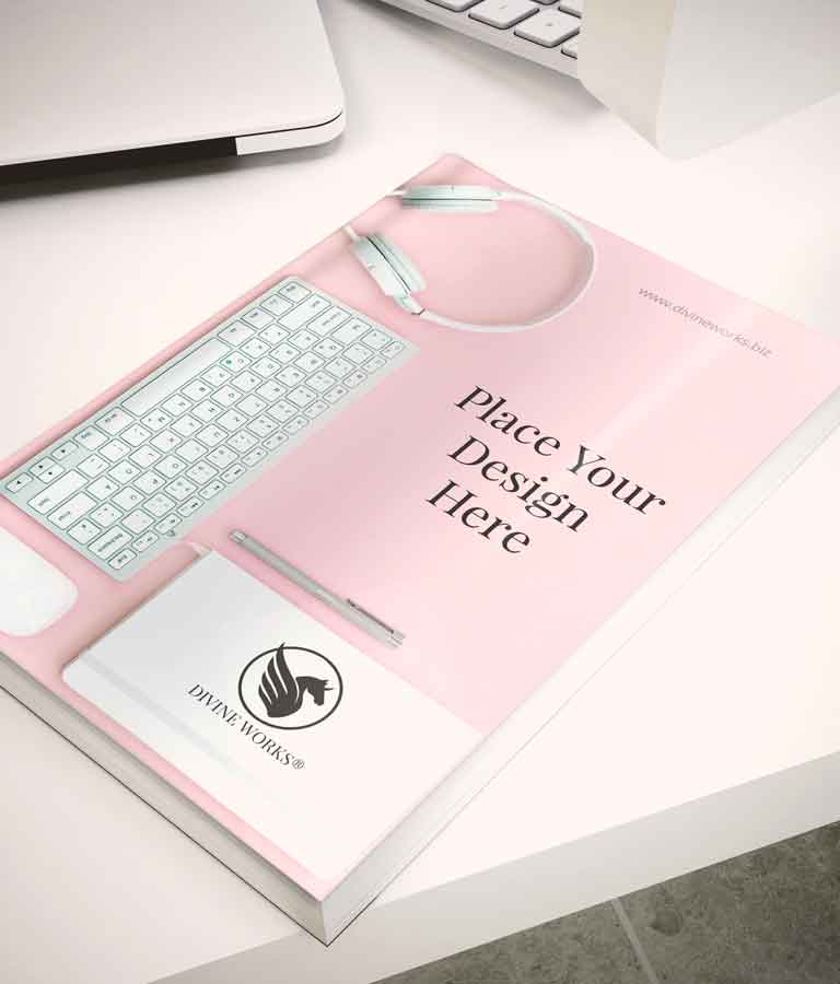 Free Book Cover Mockup by Divine Works