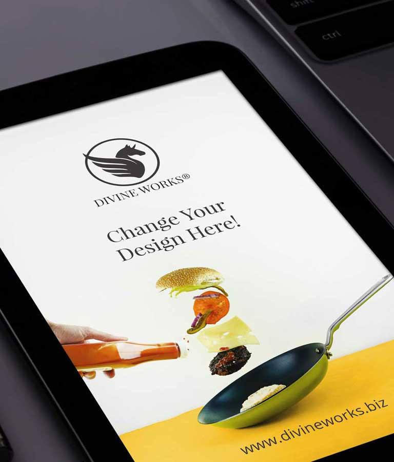 Tablet Mockup Free PSD
