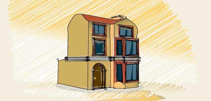 Free Vector Home Illustration