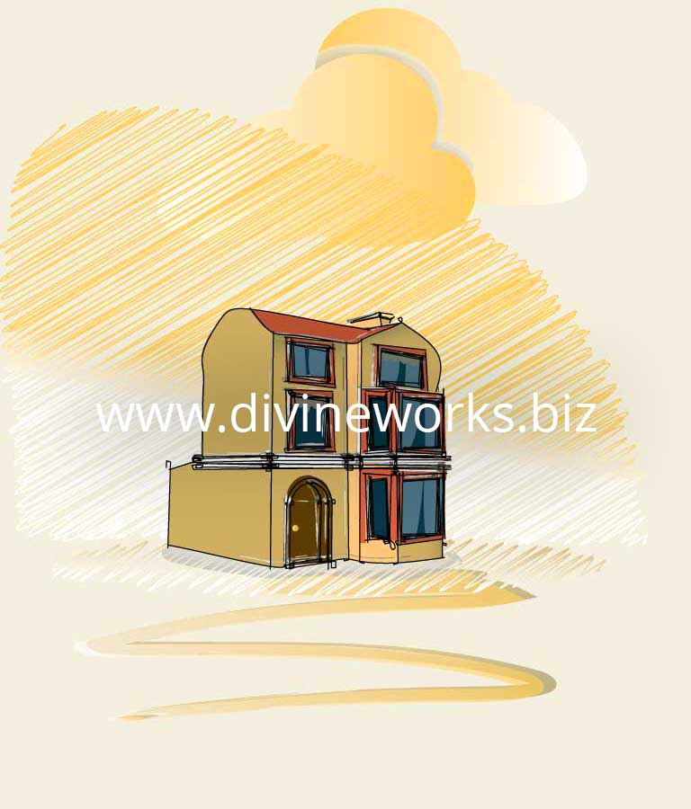 Free Vector Home Illustration