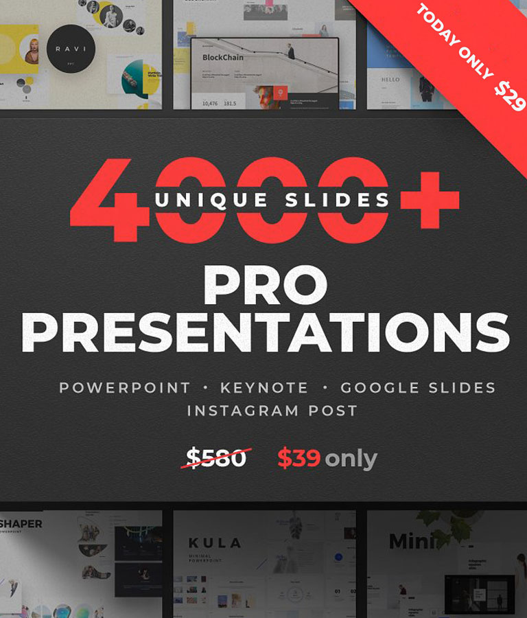 40-in-1 Presentation Bundle