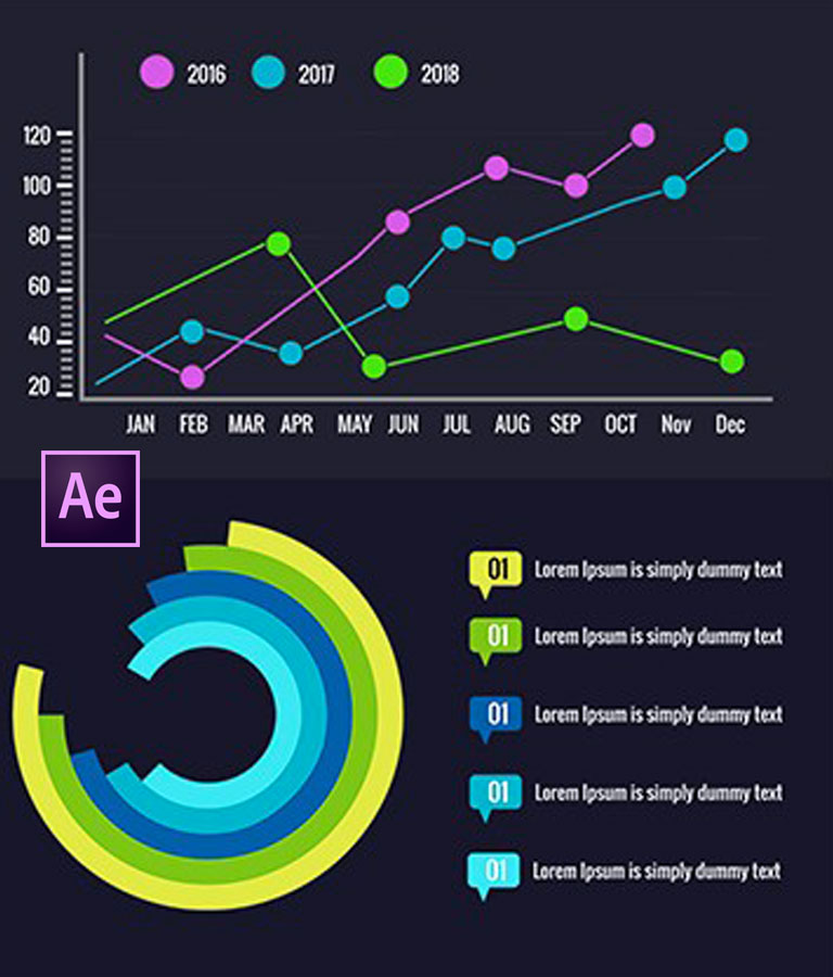 Animated Infographics With After Effects