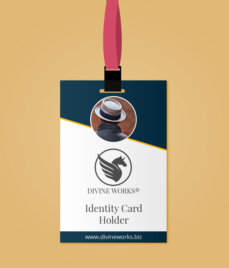 Download Free Identity Card Holder Mockup by Divine Works