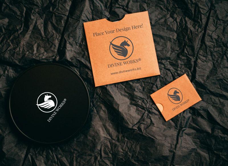 Download Free Labels Mockup by Divine Works