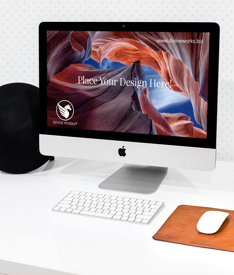 Download Free iMac Mockup by Divine Works