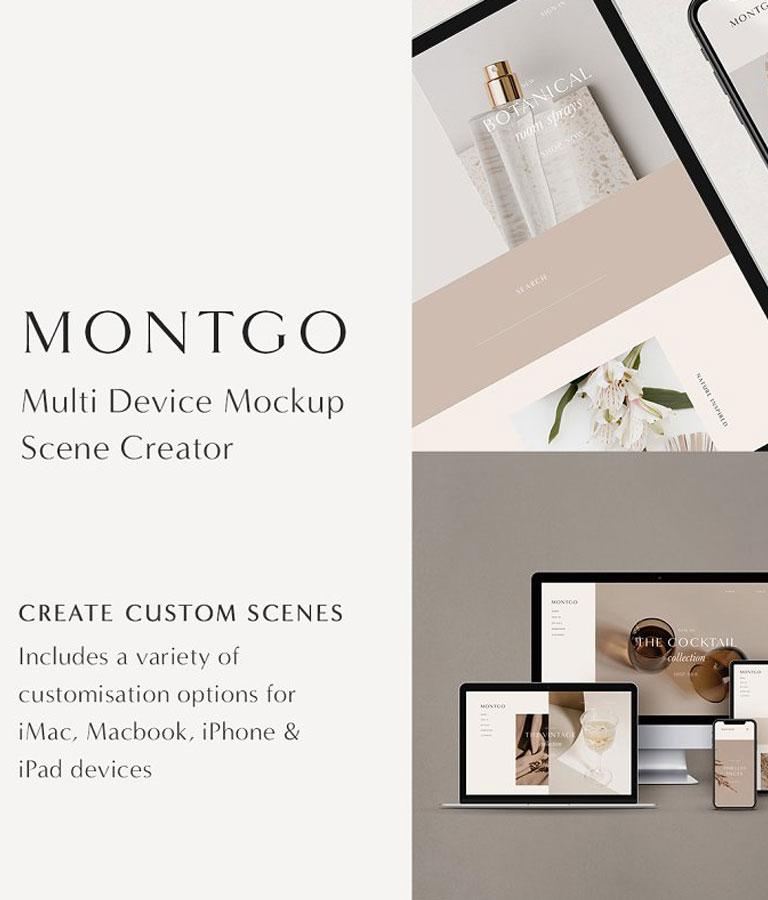 Multi-Device Mockup Scene Creator