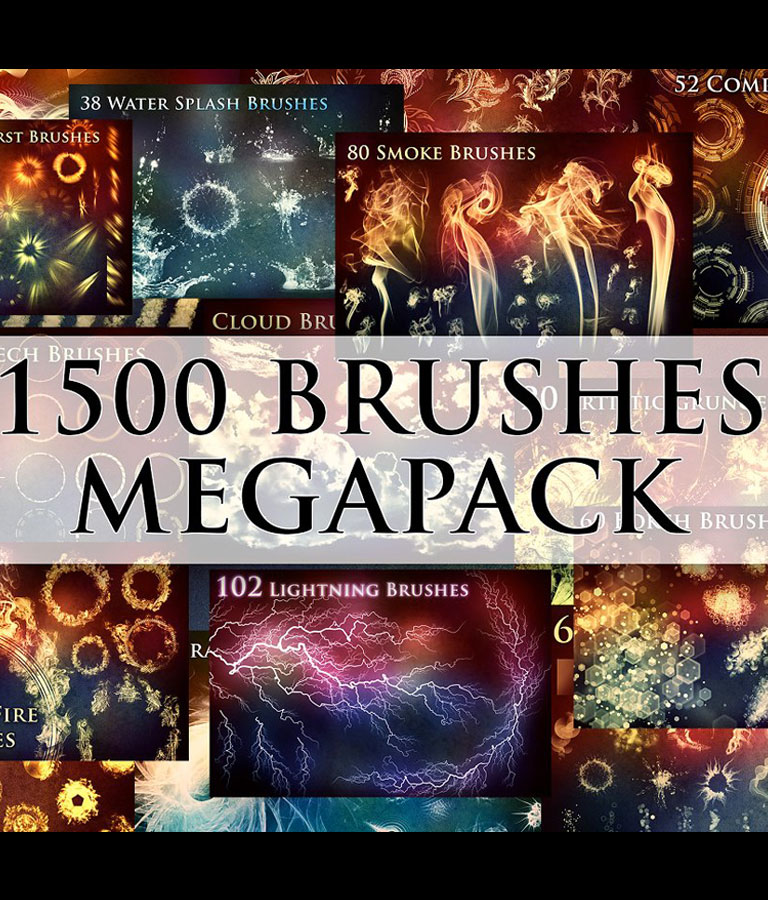 1500 Brushes Megapack