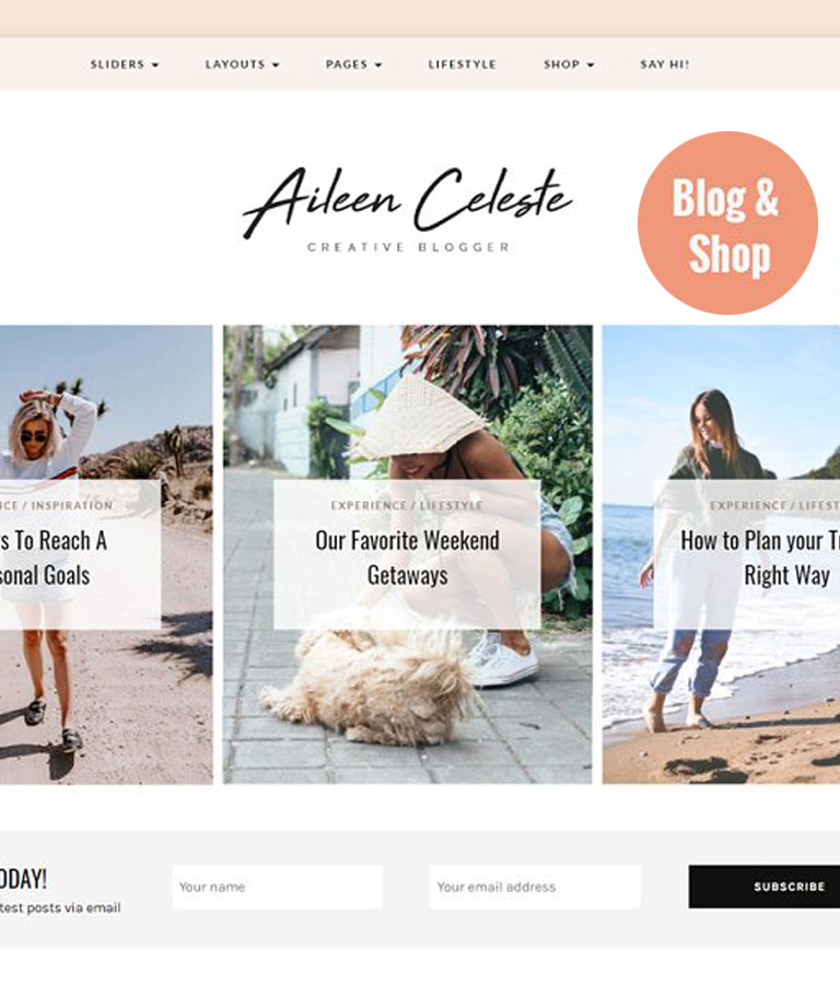 Aileen A Personal Blog & Shop