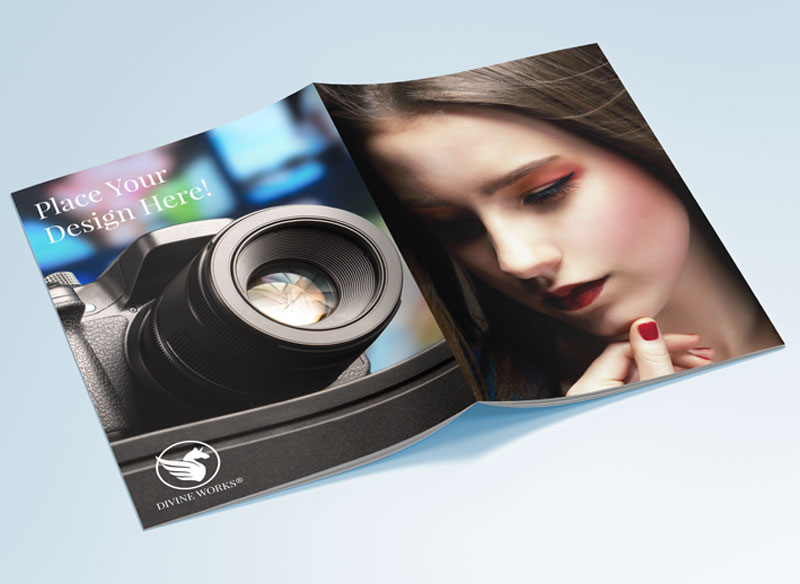 Download Free Brochure Cover Mockup by Divine Works