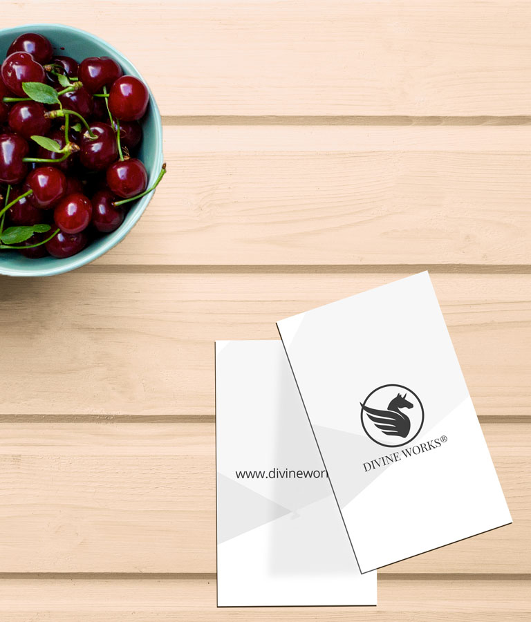 Download Free Business Card On Table Mockup by Divine Works
