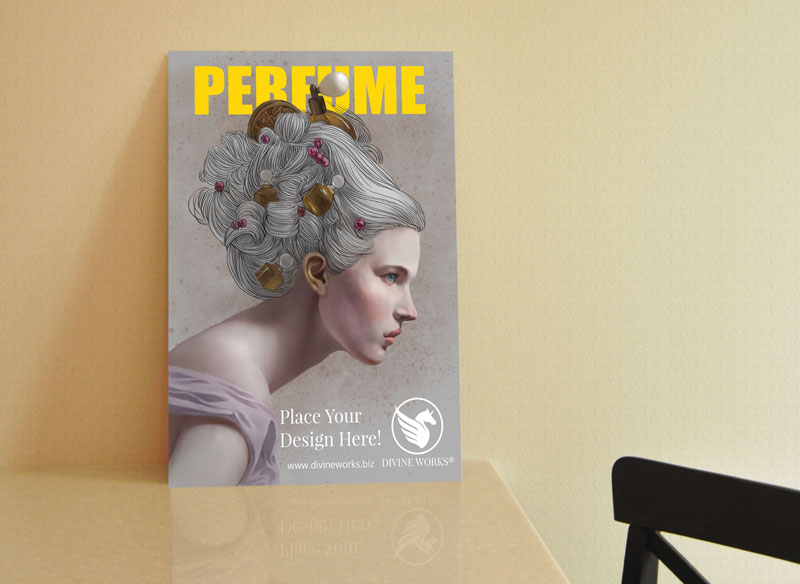 Download Free A1 Poster On Desk Mockup by Divine Works