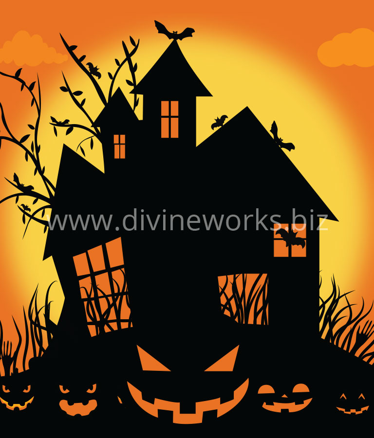 Download Free Halloween Scary Castle by Divine Works