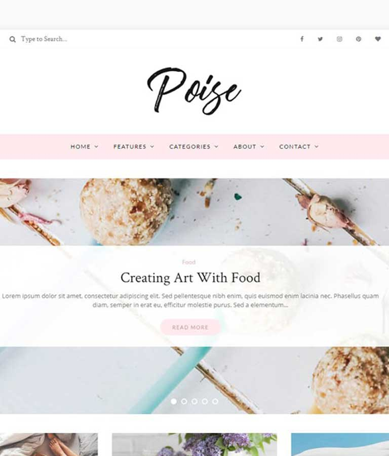 Poise WordPress Blog Theme