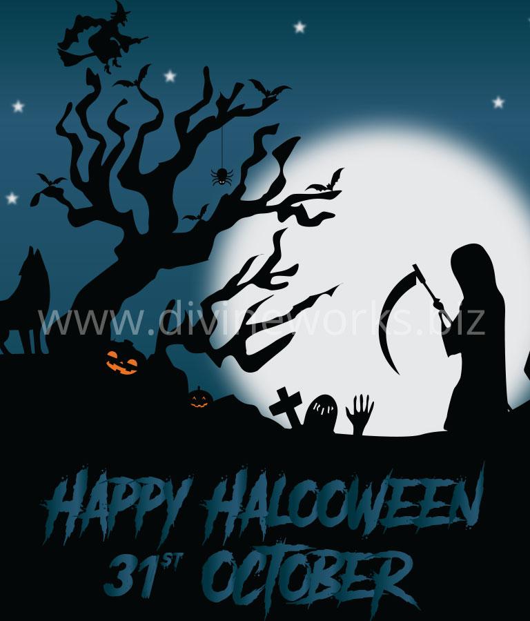 Download Scray Halloween Vector by Divine Works