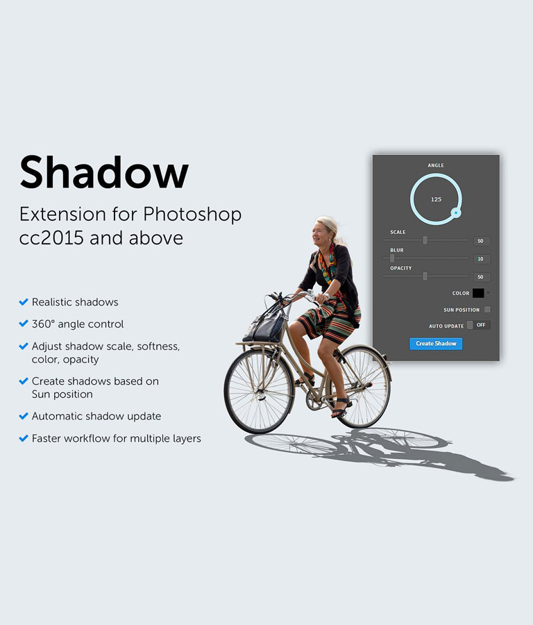 Shadow Photoshop Extension