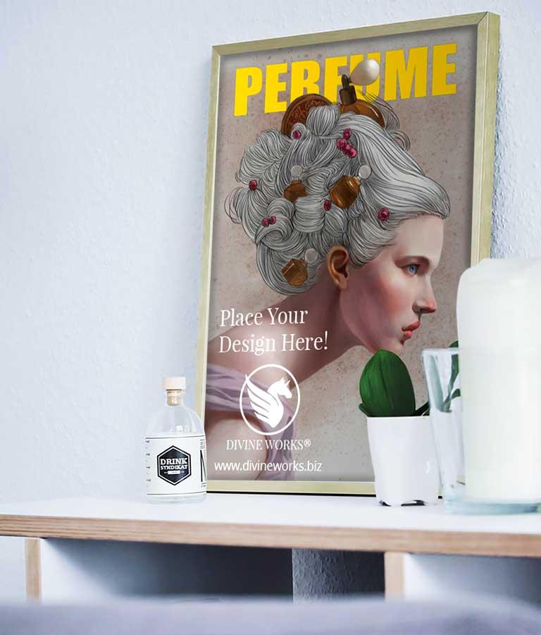 Download Free Room Frame Mockup PSD by Divine Works