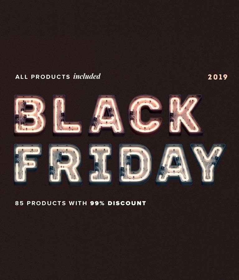 Black Friday The Entire Shop Bundle