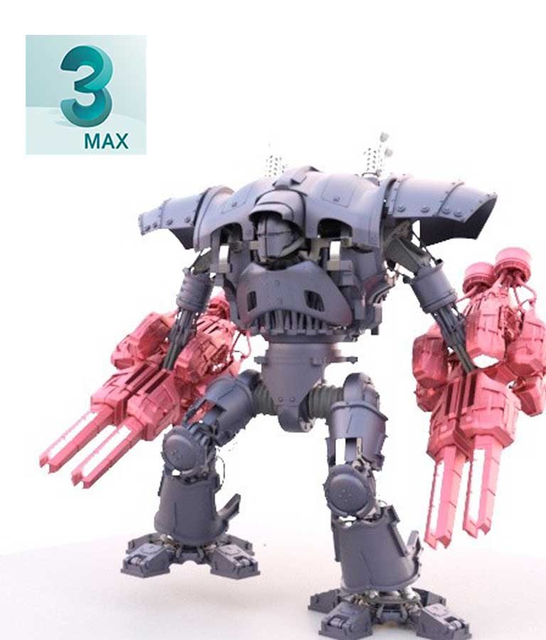 Ol Blue Presents The Imperial Knight 3D Tutorial for 3ds Max