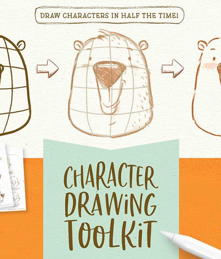 Procreate Character Drawing Toolkit