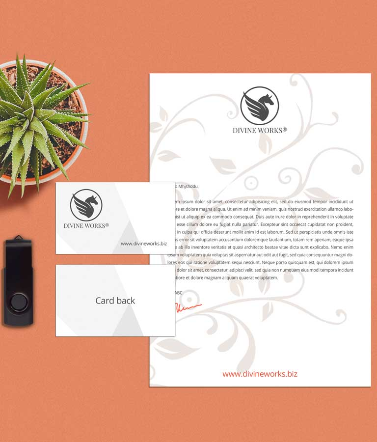 Download Free Stationery Mockup PSD by Divine Works