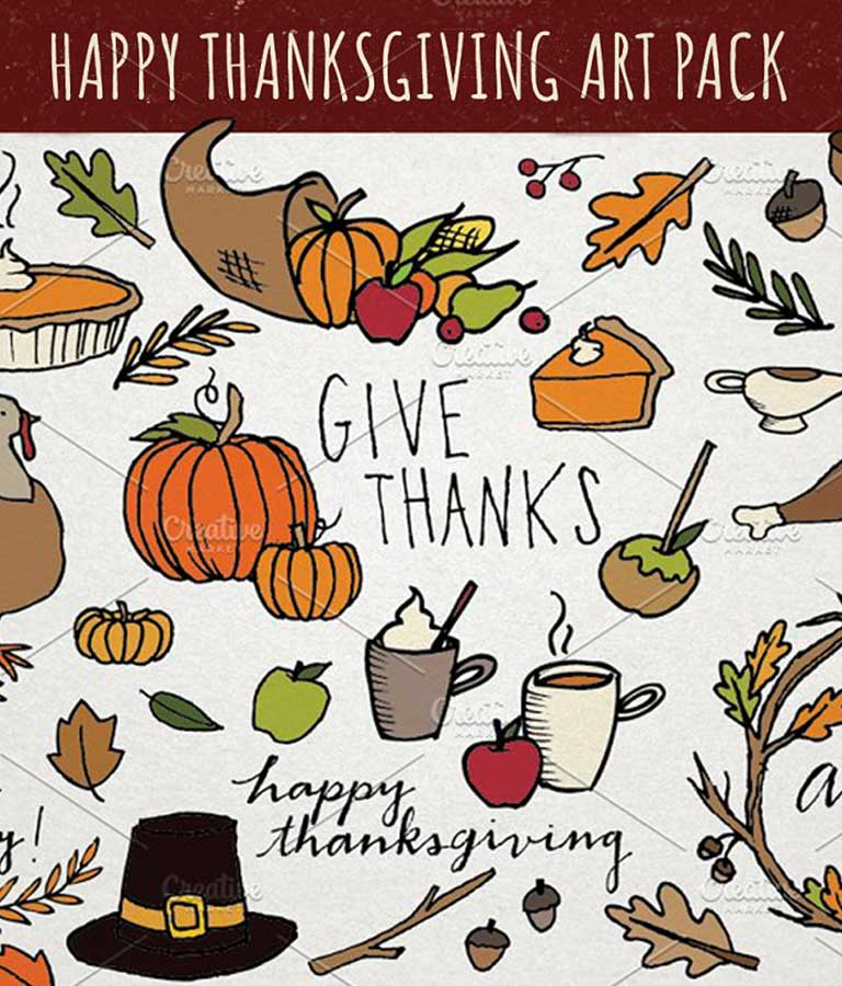 Thanksgiving Art Pack