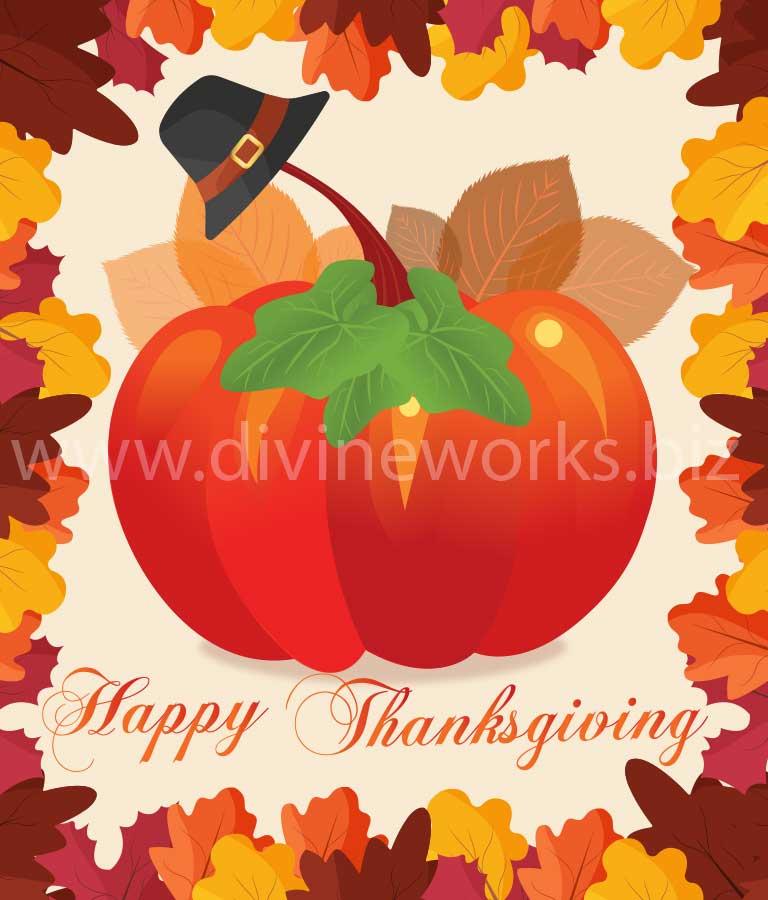 Download Free Thanksgiving Decorate Pumpkin by Divine Works