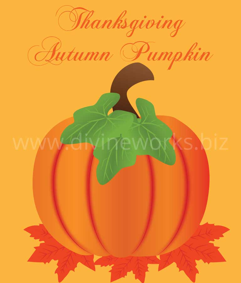 Download Free Thanksgiving Pumpkin Vector by Divine Works