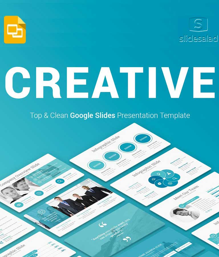 Top Creative Google Slides Template